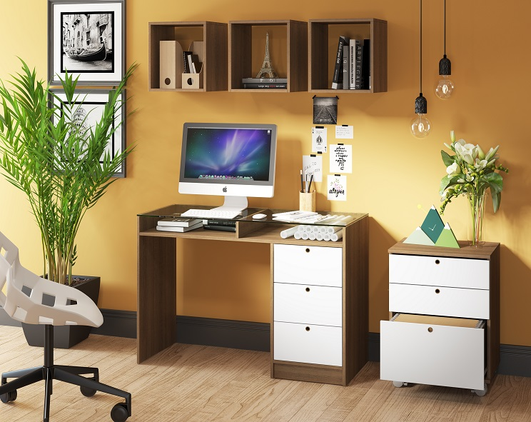Escrivaninha para Home Office - Madesa Móveis