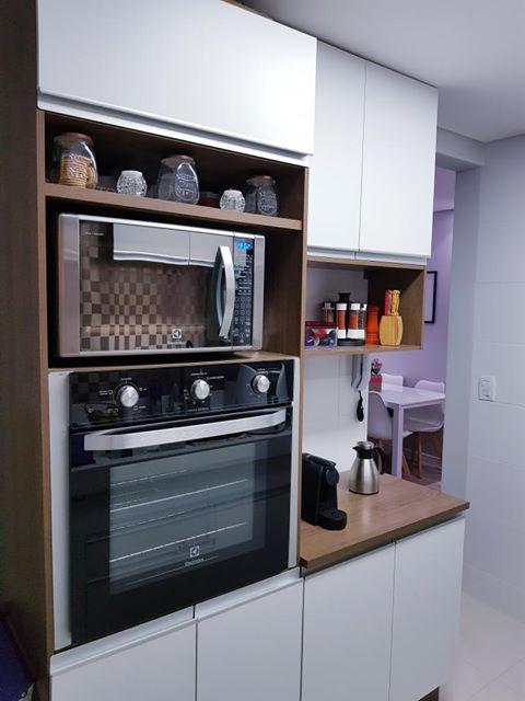 Cozinha funcional de cliente Madesa.