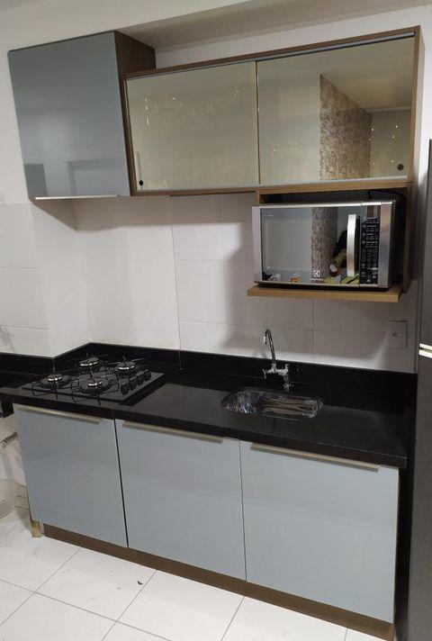 Cozinha Lux da Madesa como exemplo de um dos estilos de cozinha