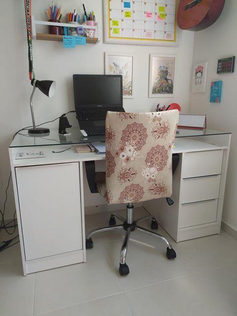Escritório no quarto de cliente Madesa.
